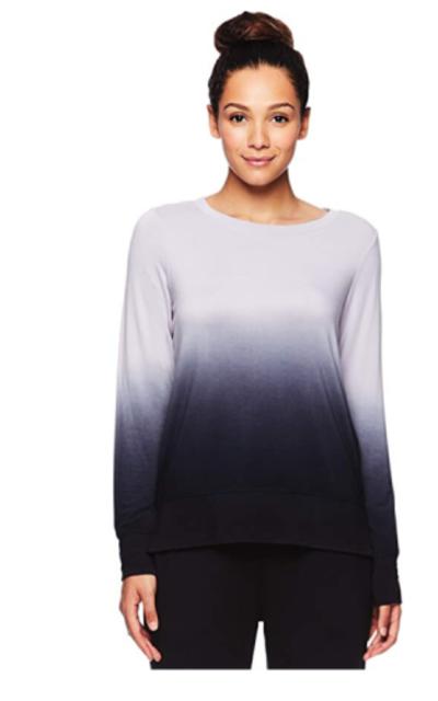 Gaiam Dip Dye Pullover Sweatshirt