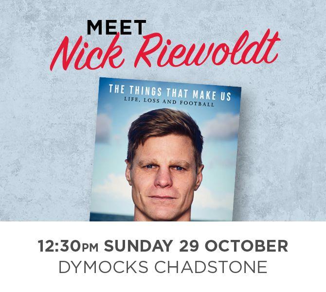 Dymocks Nick Riewoldt Book Signing