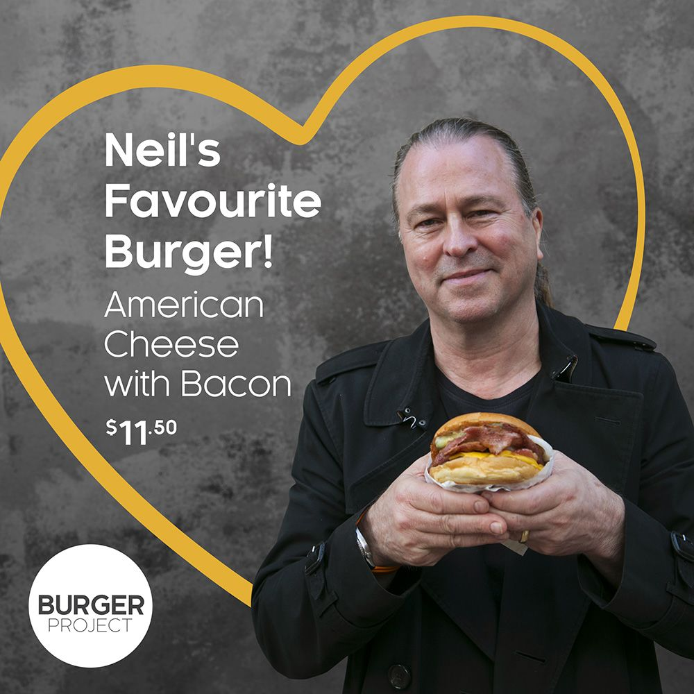 Try Neil Perry's Favourite Burger