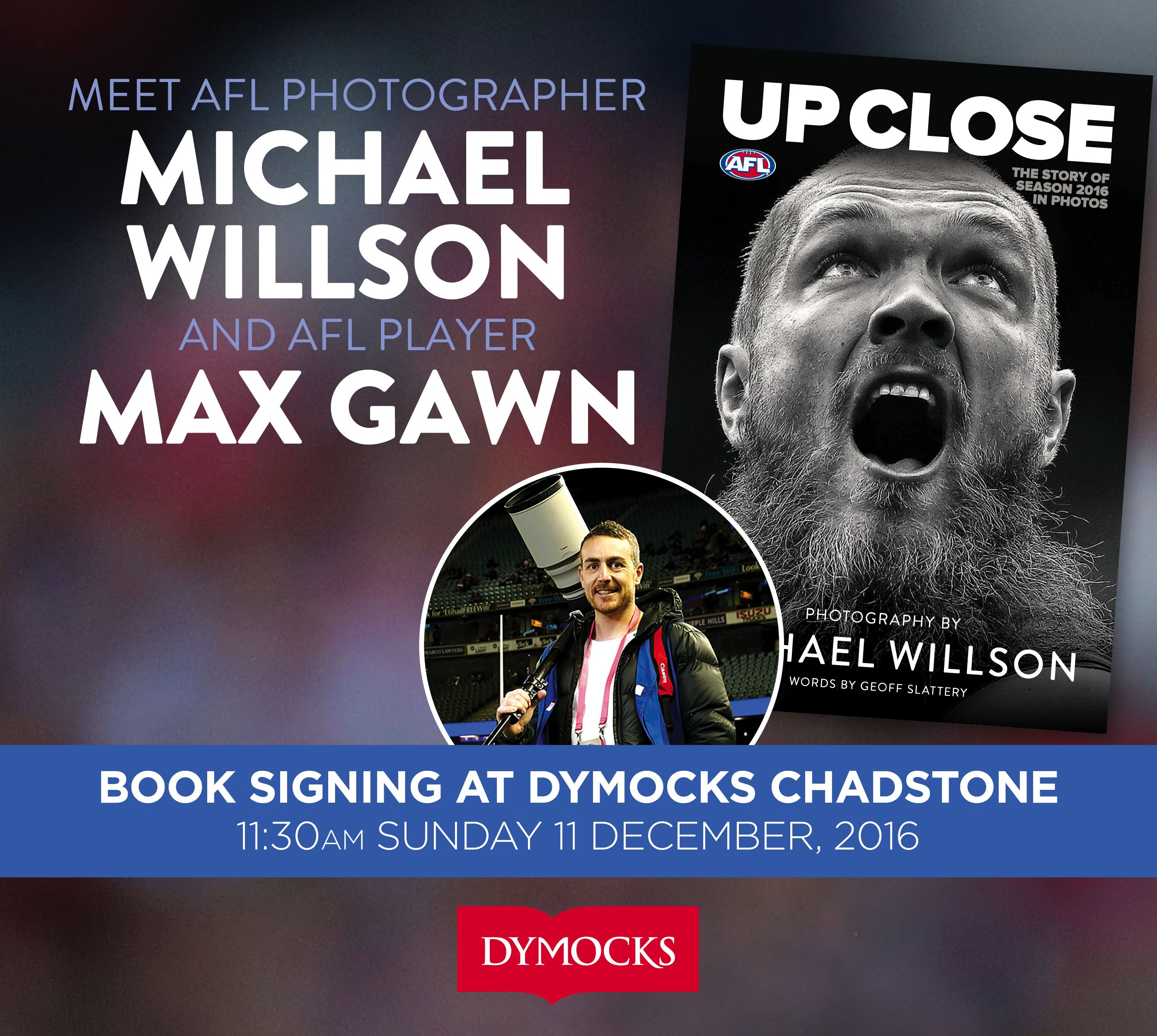 Max Gawn and Michael Willson