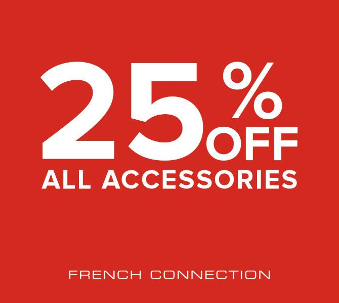 French Connection Special Promotion