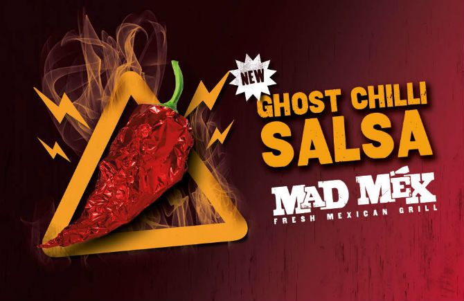 Mad Mex launches the Ghost Chilli Salsa