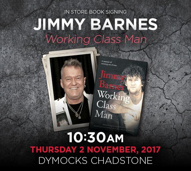Dymocks Jimmy Barnes Signing