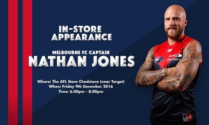 Meet & Greet Nathan Jones
