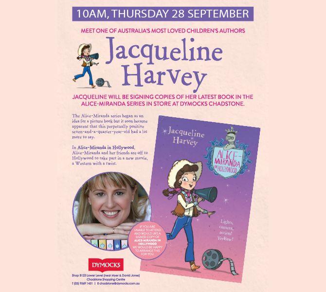 Dymocks Jacqueline Harvey Signing