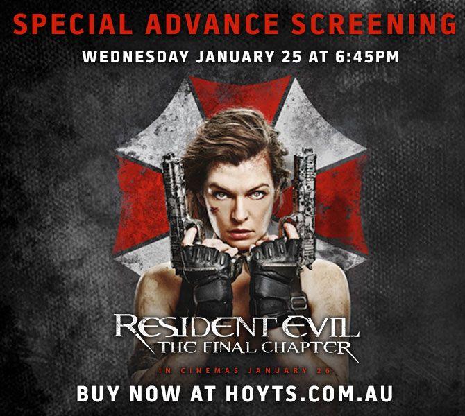 Hoyts Resident Evil