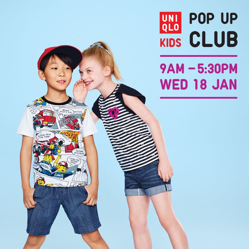 Uniqlo Kids Pop Up Club