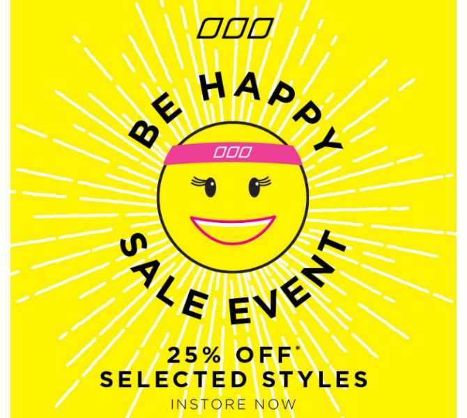 Lorna Jane's Be Happy Sale Event