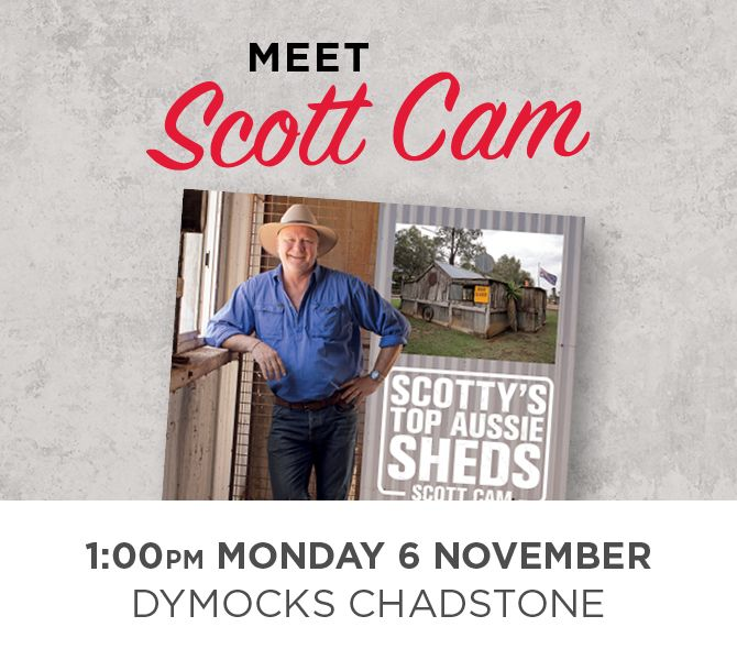 Dymocks Scott Cam Book Signing