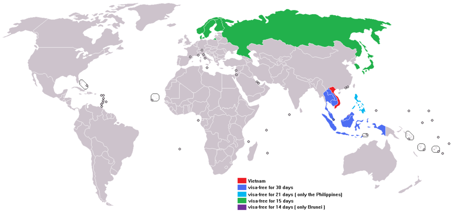 Сколько обычно стоит виза во Вьетнам в 2019 году