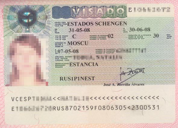 Стоимость оформления въездной визы в Испанию в 2019 году