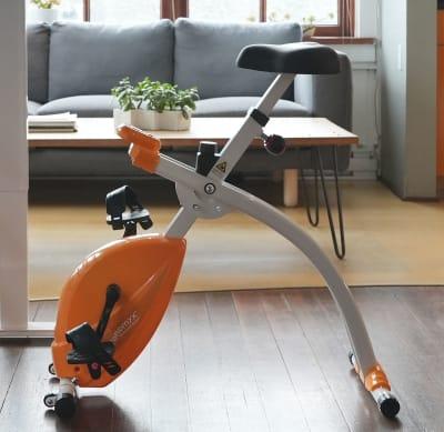 Ergonomyx Under-Desk Bike with Smart Sit-Stand Desk