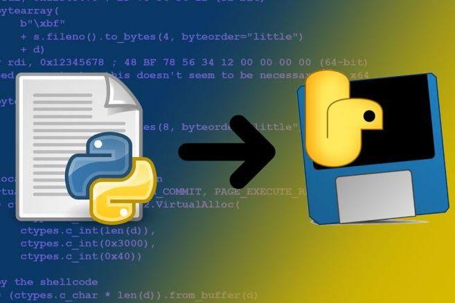 Pythonファイルのexe化