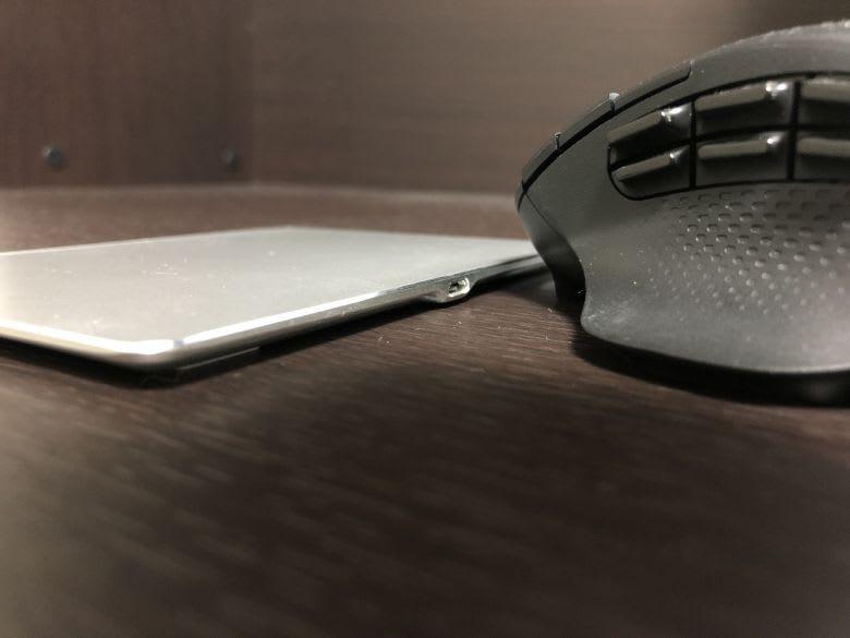 Jelly Comb USB トラックパッド(厚さ)