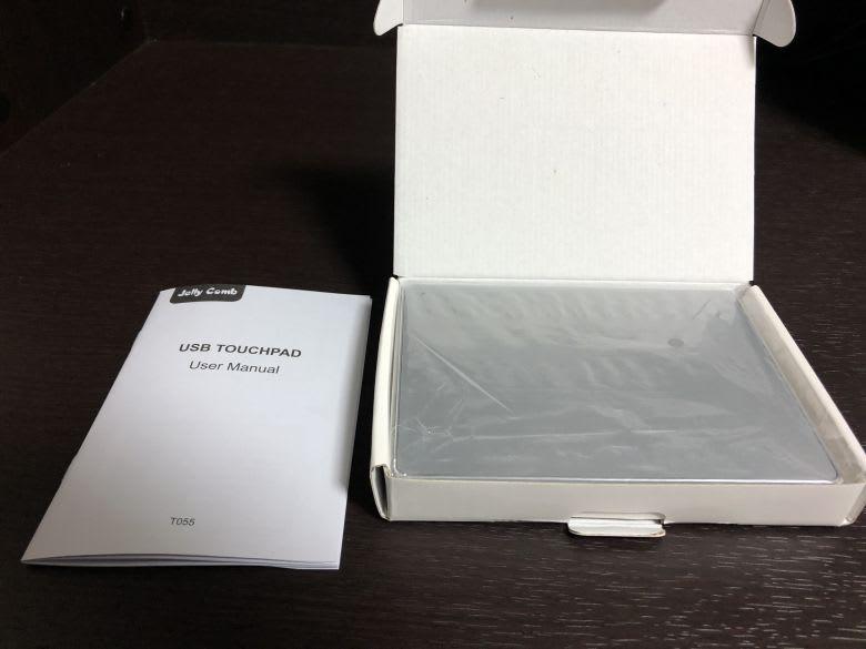 Jelly Comb USB トラックパッド(中身)