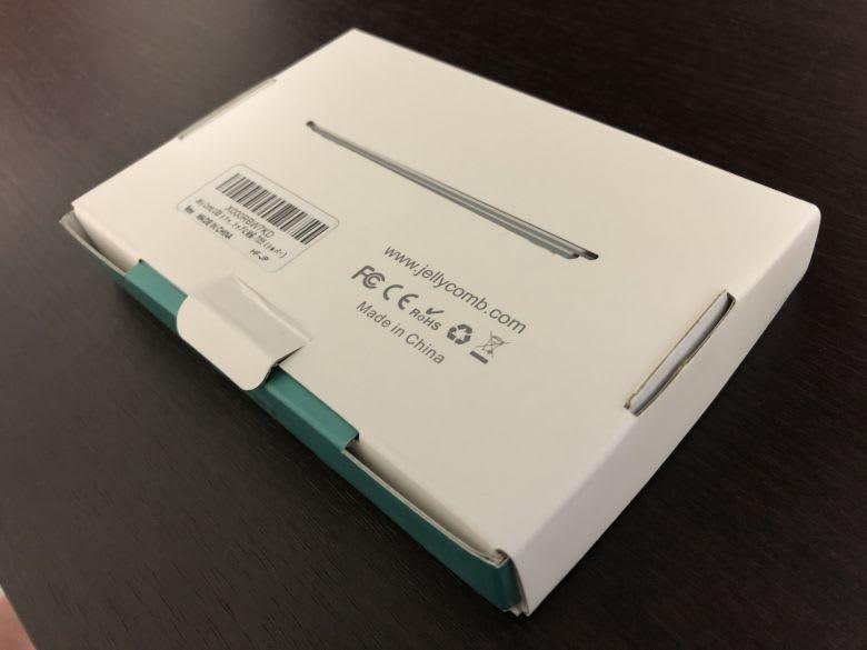 Jelly Comb USB トラックパッド(裏)