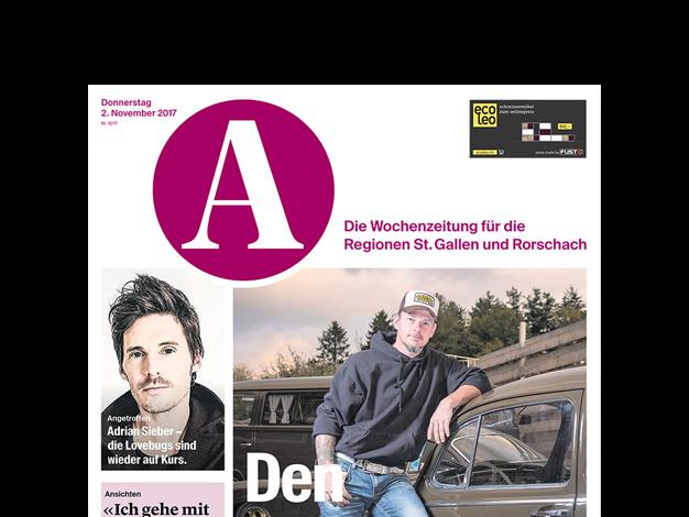 A Ostschweizer Wochenzeitung Inserat