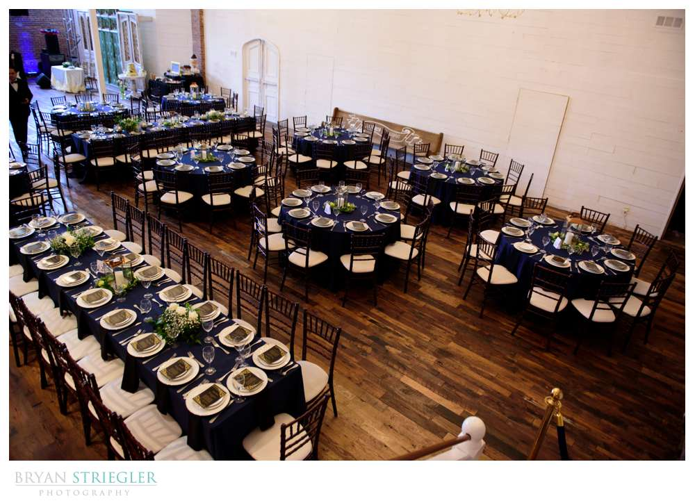 wedding reception at the Ravington
