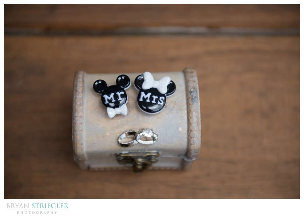 mickey mouse wedding ring box