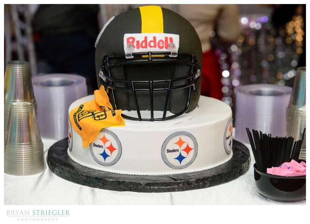 Steelers Football Groom's Cake