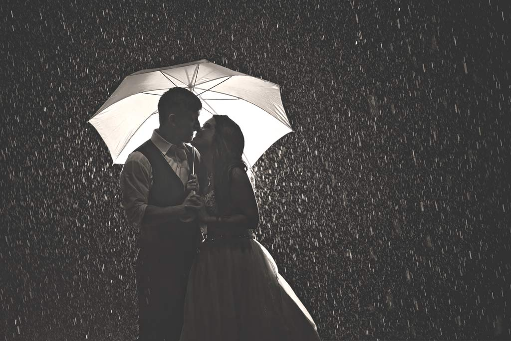 How to Deal with Bad Weather on your Wedding Day