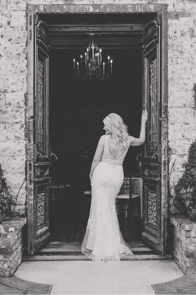 bride in door of Ravington