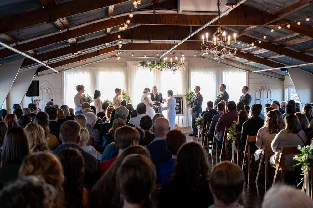 Musical Wedding at Barn at the Springs
