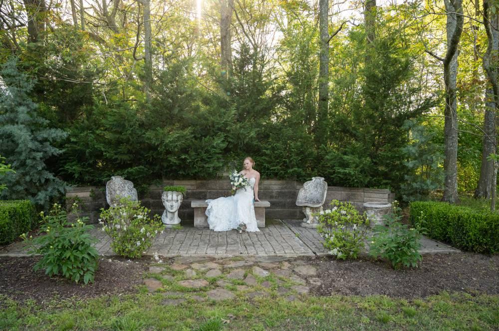 bridal portraits at MattLane Farm