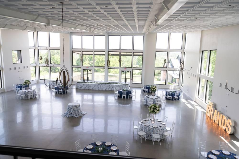 inside Osage House wedding venue
