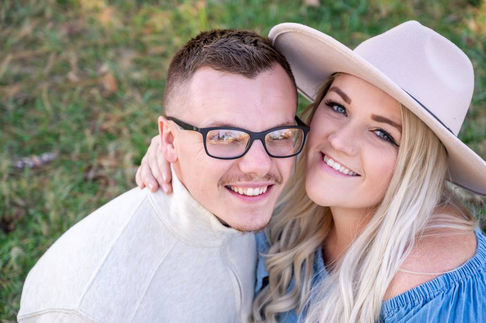 engagement photos in Springfield