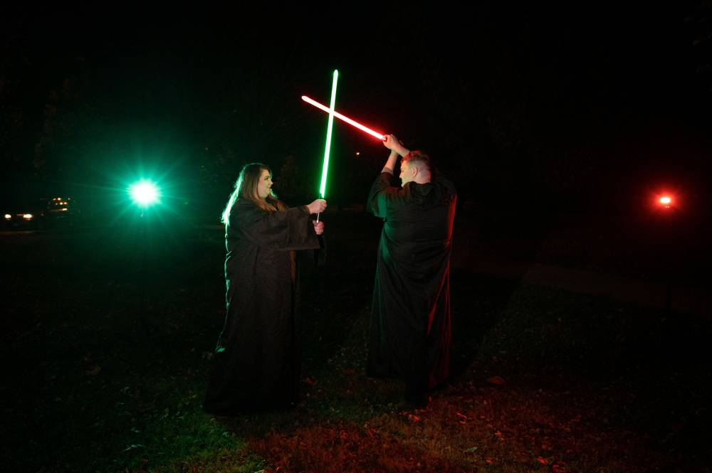 Star Wars engagement session in St. Louis