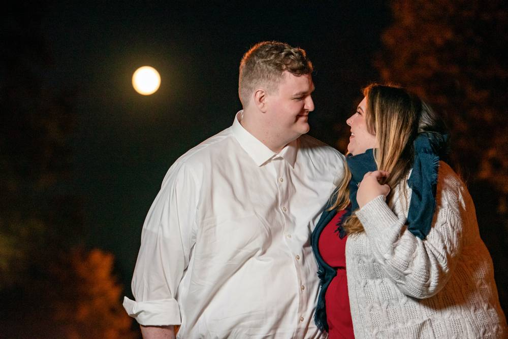 engagement photos in St. Louis