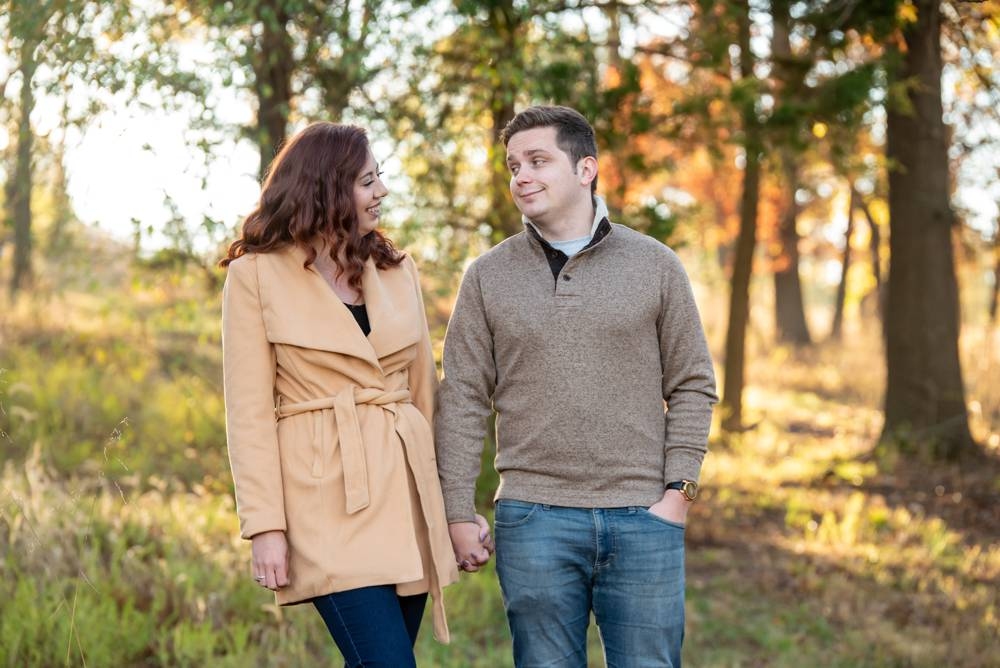 engagement session at Queeny park in St. Louis