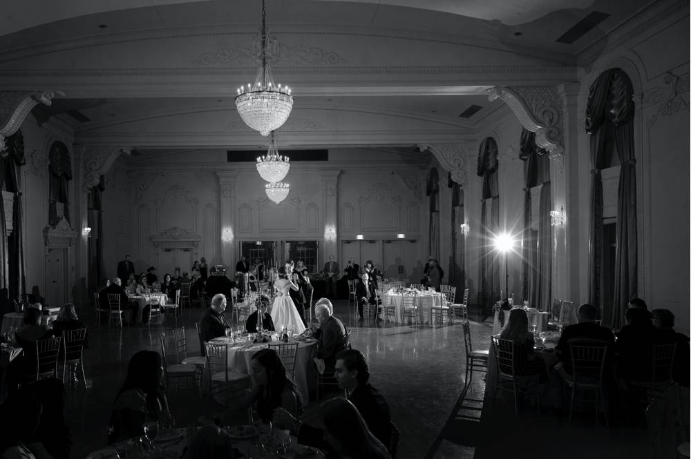 Wedding in Tulsa in ballroom first dance