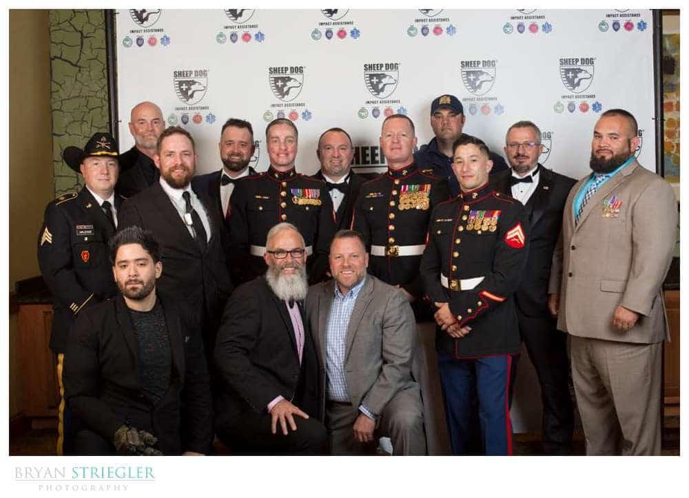 group of military vets at SDIA