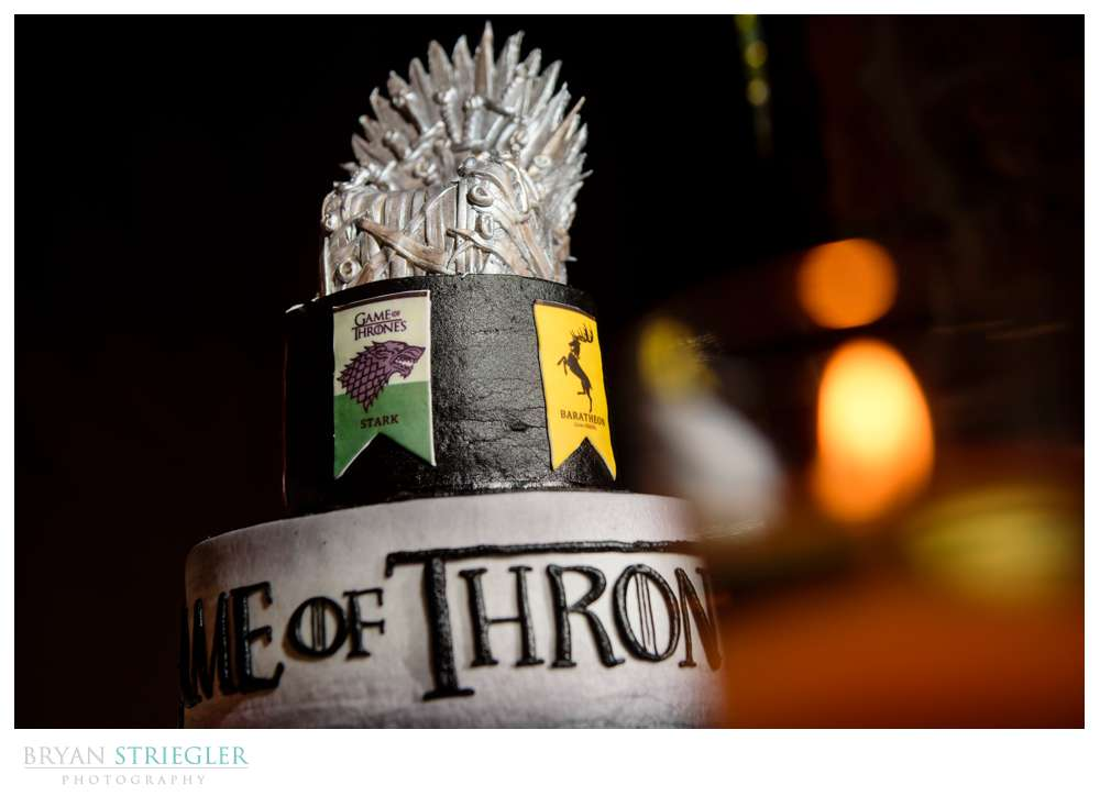 Game of Thrones groom's cake