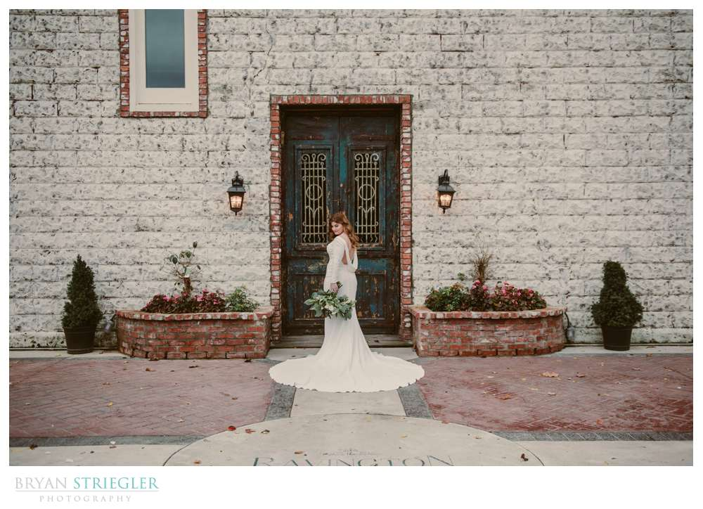 front door of the Ravington