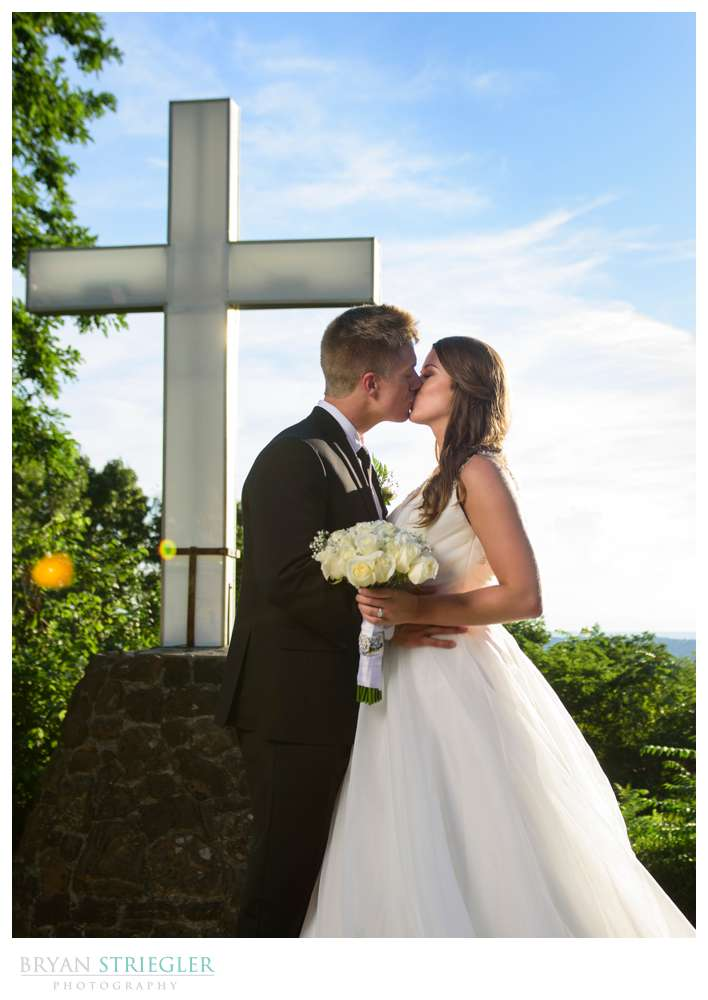 wedding portrait at mount sequoyah