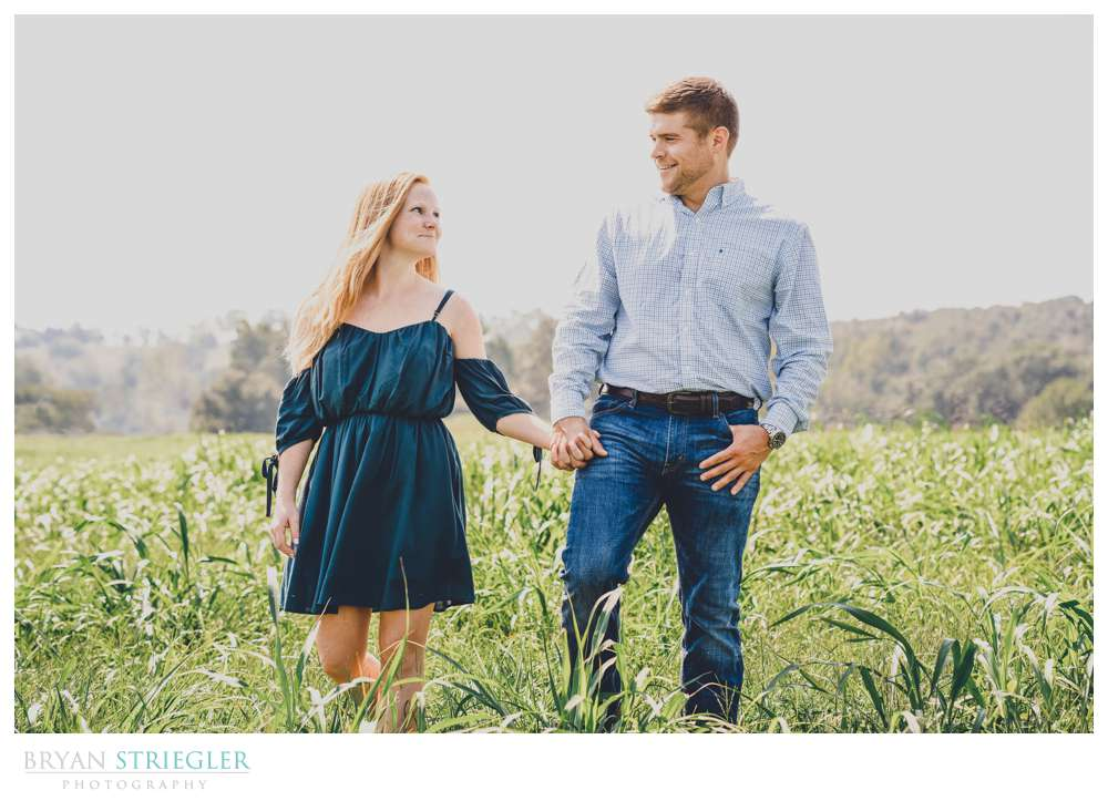 engagements in tall grass