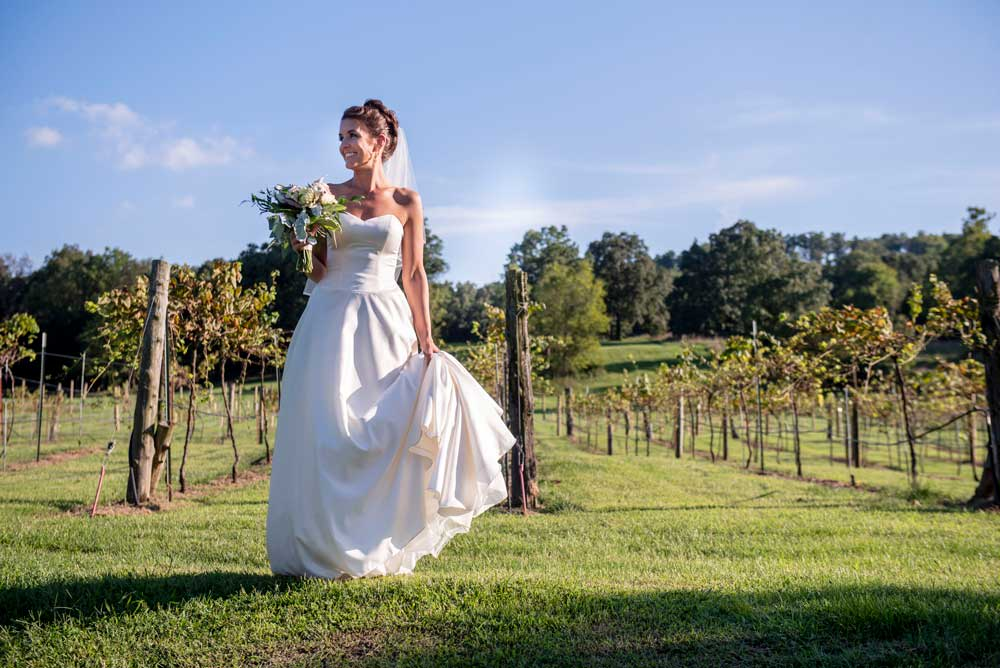 Sassafras-Vineyard-Wedding-Venue-with-bride