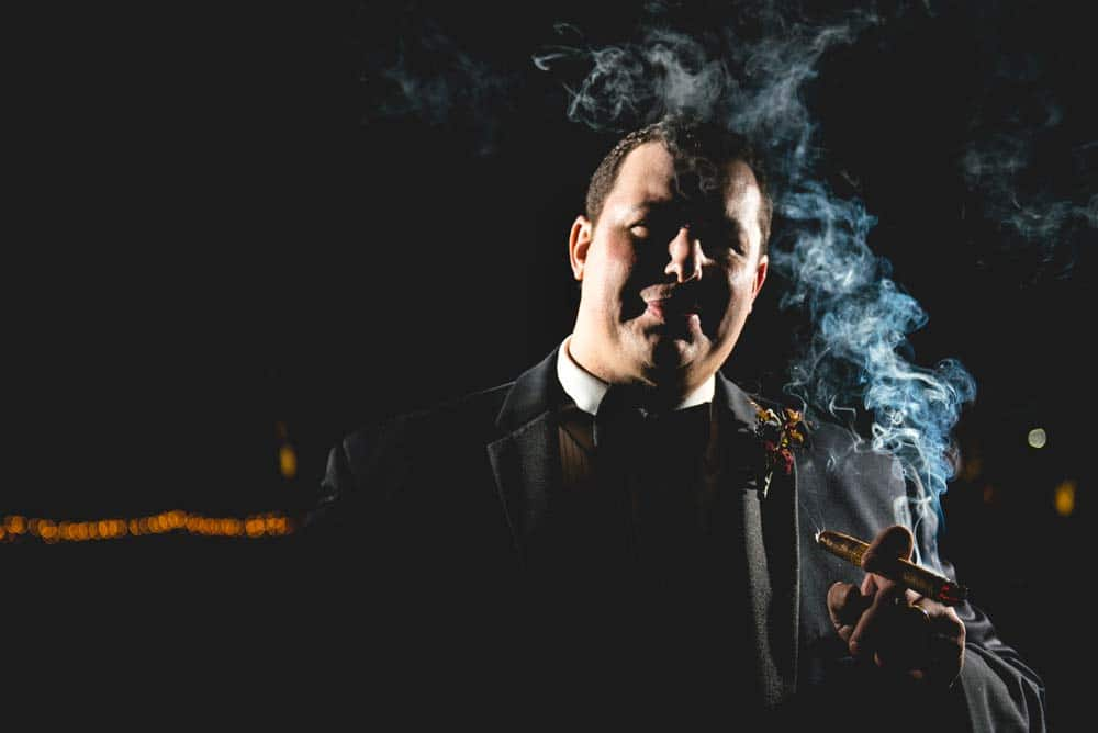 Groom-Smoking-at-Arkansas-Weddings