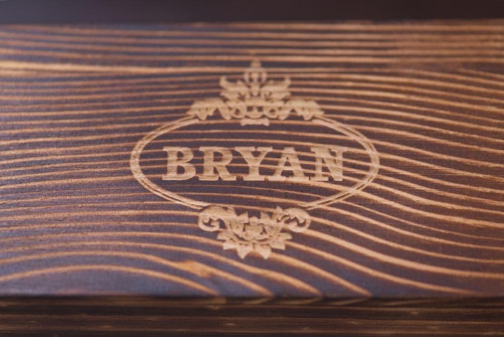 personalized wood box