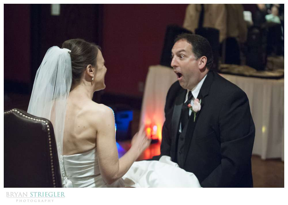 Arkansas wedding garter