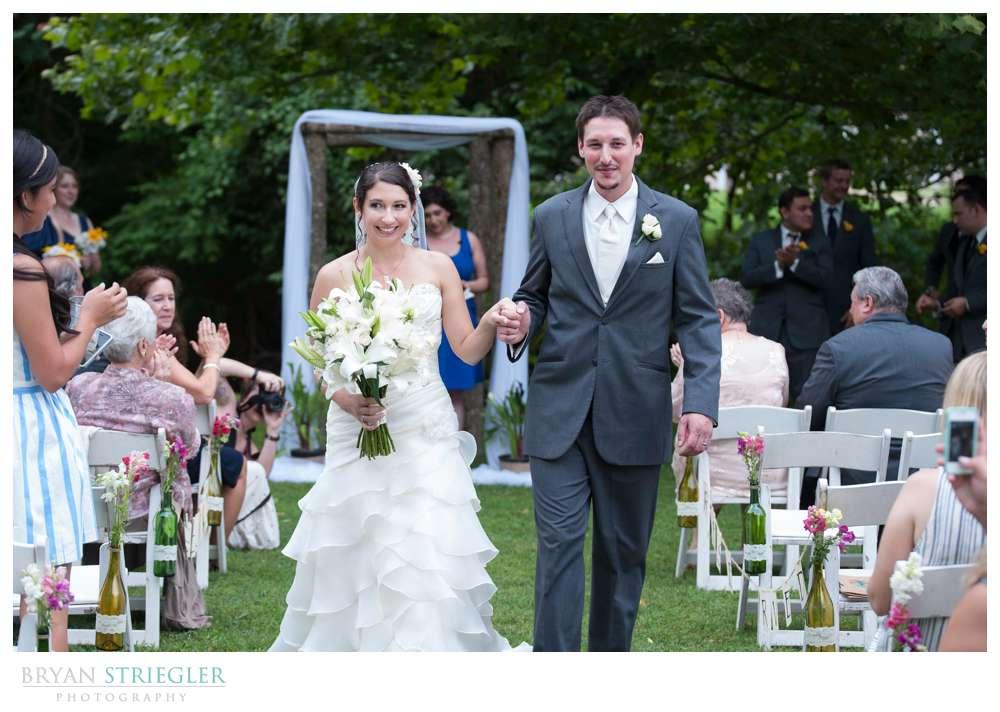 Rogers Wedding Arkansas ceremony