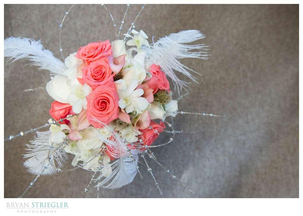 Creative wedding bouquet