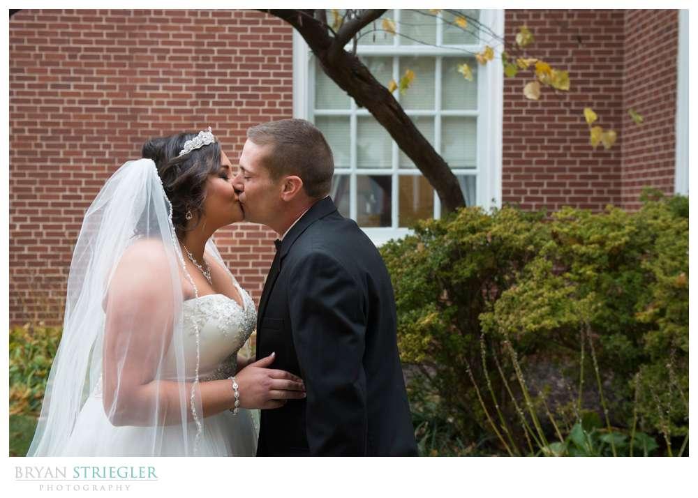Northwest Arkansas Wedding Photographer first look