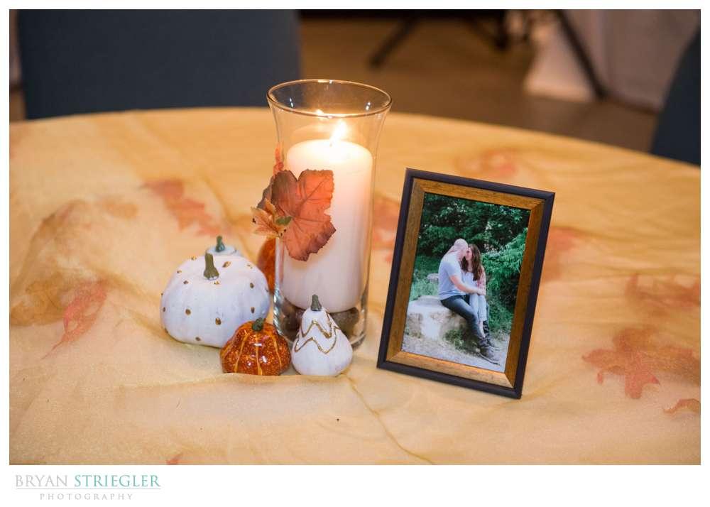 Springdale Arkansas Wedding table decorations