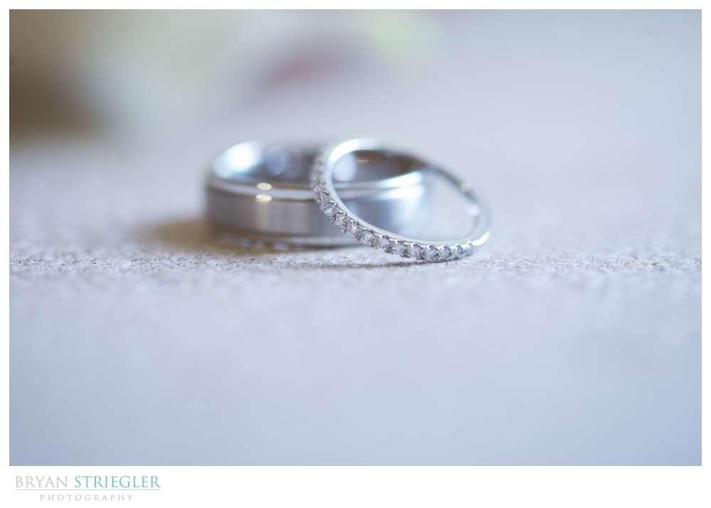 Northwest Arkansas Wedding Photographers rings