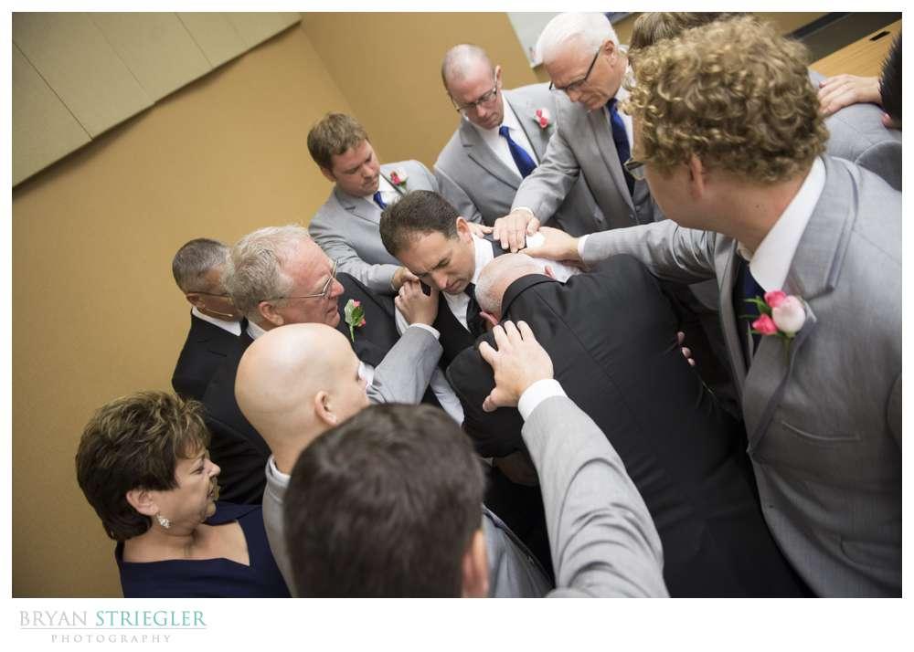 Arkansas wedding prayer