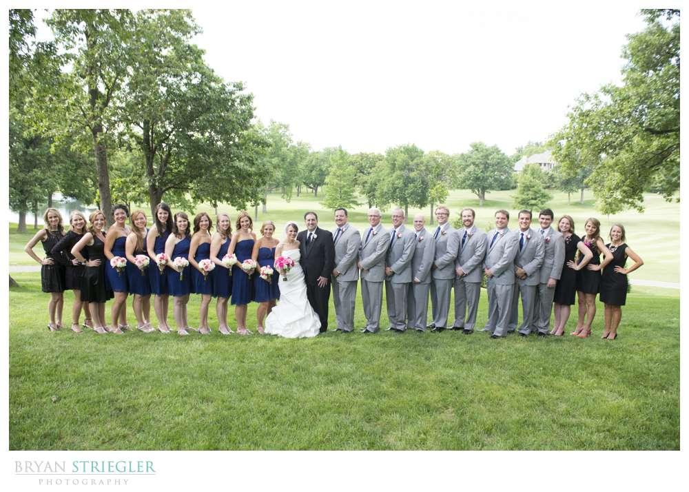 Arkansas wedding bridal party